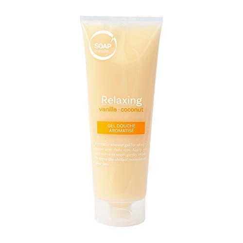 SOAP'minute SUISSE - GEL DOUCHE VANILLE ET COCO - Relaxant - Tous les types de peaux