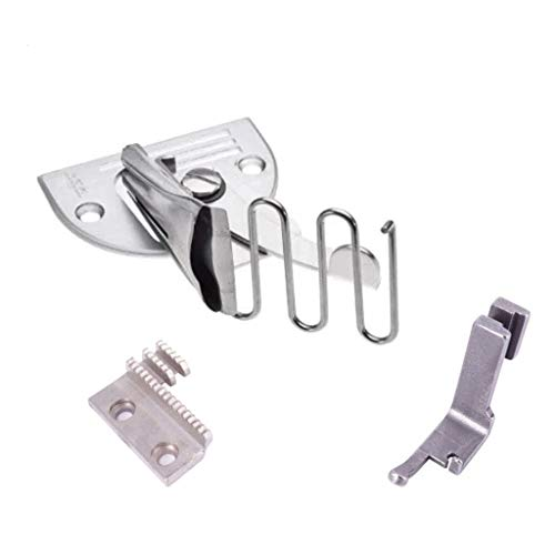 Sdoveb Sewing Machine Accessories, Double Fold Angle Binder Set, 5 Sizes Overlock Binding of Curve Edge Folder Bias Binder Foot Sew Feet Machine (B(26mm))