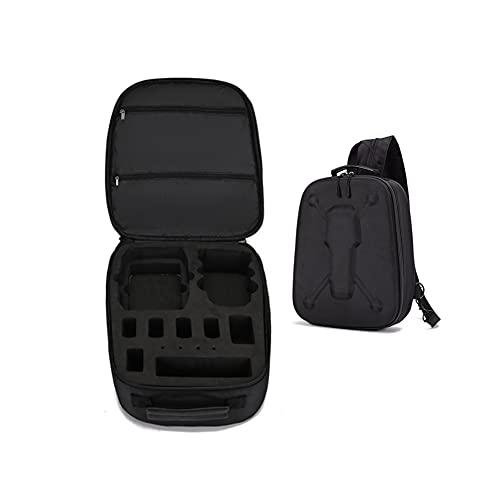 GEBAN Aufbewahrungstasche Umhängetasche Rucksack Drohne Tragbare Reisetasche Für D& JI Mini Fly Mehr Kammzubehör Drohnen Zubehör (Color : Black)
