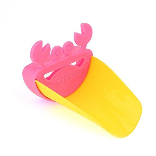 Robinet lavabo Extender belle forme de crabe pour enfants / Enfants / Tollders laver les mains de souhaits Matériel sécuritaire