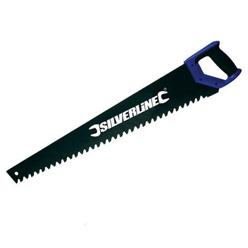 Silverline 675119 Hartmetall-Fuchsschwanz für Beton und Ziegel 700 mm