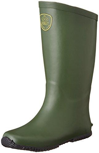 [福山ゴム]長靴園芸ブーツメンズグリーンLL(26.0~26.5cm)