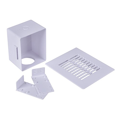 Oatey 39260 Sure Vent Air Admittance Valve Wall Box , White