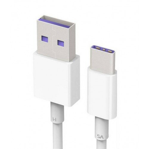 Huawei Ap71 Cable USB Tipo C, Color Blanco, Neg