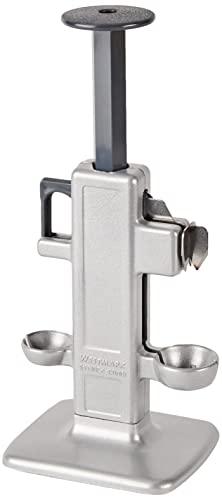 Westmark Kirschen- und Pflaumenentsteiner, Retro-Design, 10,6 x 8,3 x 23 cm, Aluminium/Kunststoff, Edelstahl-Klinge, Steinex-Combi, 4020RT60