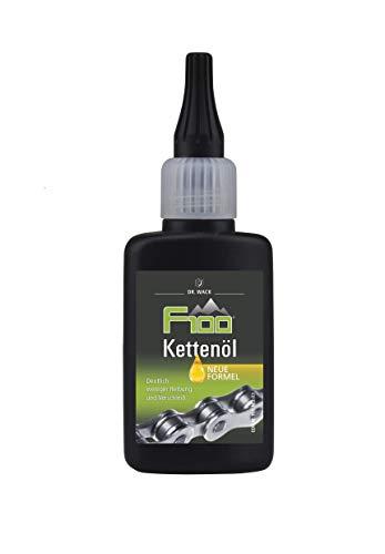 Dr. Wack - F100 Kettenöl – Tropfflasche 50 ml I Premium Fahrrad Kettenöl für weniger Reibung & Verschleiß I Kettenöl für alle Fahrräder I Hochwertige Fahrradpflege – Made in Germany