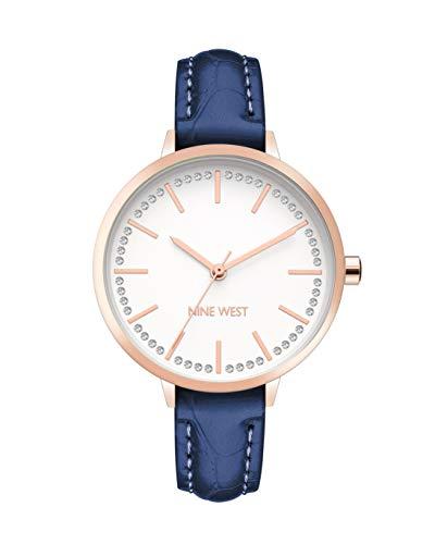Nine West Dress Watch (Model: NW/2554RGNV)