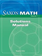 Best saxon math course 1 book Reviews