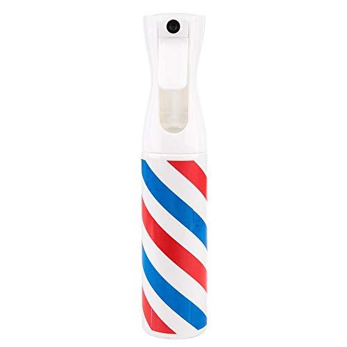 Flacon pulvérisateur pour cheveux avec spray continu et spray fin, flacon pulvérisateur à brume fine rechargeable pour la coiffure, le nettoyage du jardin, beau et durable