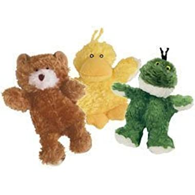 Kong Low Stuffing with Squeaker Dog Toy Size:XSmall Type:3 animals