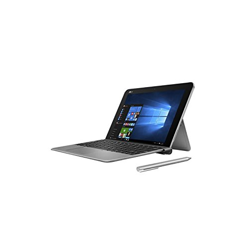 Asus Transformer T102HA-GR036T Notebook Convertibile, Display 10.1' HD, Processore Intel Atom Z8350, RAM 4 GB, 128 GB eMMC, Grigio