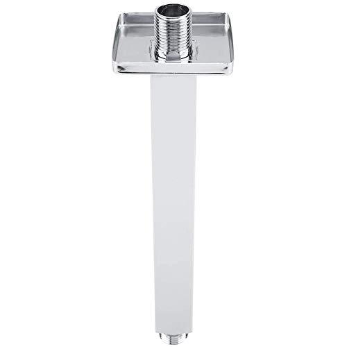 Dusche Arm Wand Quadrat Edelstahl Top Gerade Dusche Verlängerung Arme Rohr, Für Badezimmer Decke Duschkopf Zubehör,Silber