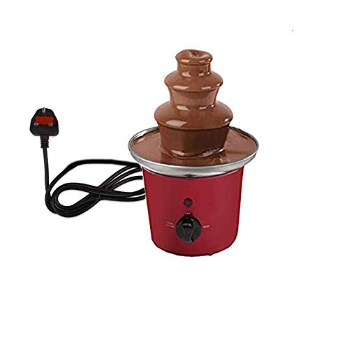 Electric Powered Stainless Steel 3 Tier Cascading Chocolate Fountain Fondu