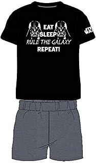 E PLUS M Conjunto Star Wars Darth Vader Rule The Galaxy - Camiseta y Pantalón Corto