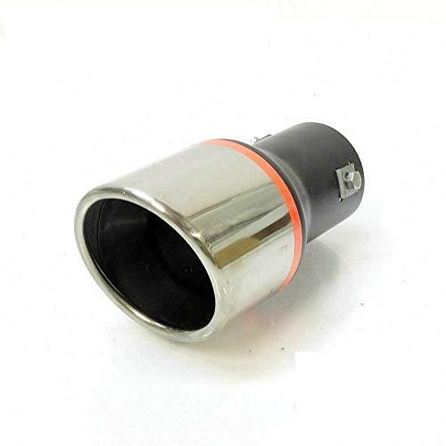 Autohobby 5824 Auspuffblende Auspuff Universell Schalldampf Endrohr Endrohrblenden Blende Sport Edelstahl bis 57mm Chrom A B C G H J CC 3 4 5 6 7