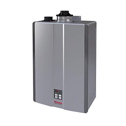 Rinnai RU130iP Sensei Super High Efficiency Tankless Water Heater, 7 GPM - Propane Gas: Indoor...