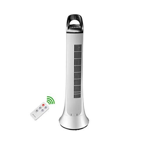 NUBAOgy Ventilador de aire acondicionado Ventilador eléctrico Ventilador de hogar Ventilador sin cuchilla Ventilador de piso con control remoto silencioso Ventilador de torre Ventilador doméstico Vent
