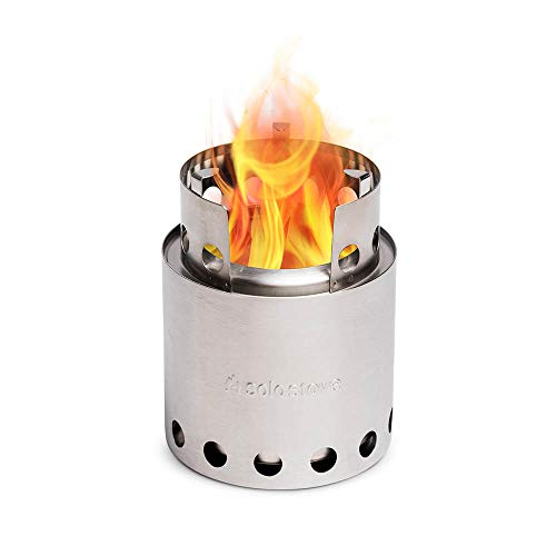 Solo Stove Lite - Portable Camping Hiking and Survival Stove | Powerful Efficient Wood Burning and...