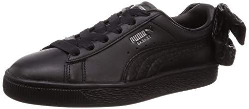 Zapatillas Puma – Basket Bow Animal Wn's Negro/Plateado Talla: 38,5