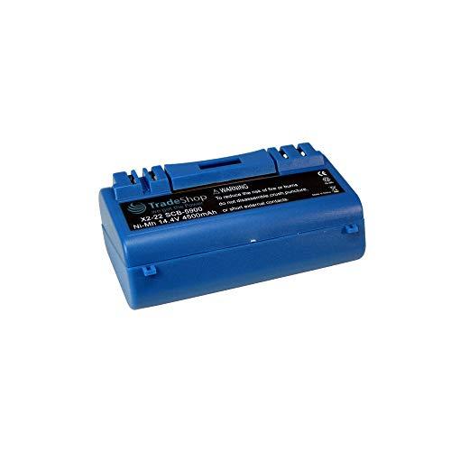 Batteria 4500mAh 14,4V Ni-MH per iRobot Scooba 330340350385590580058065900591059205930594059505999600034001sostituisce 14904BPL 18151(ad alta capacità)