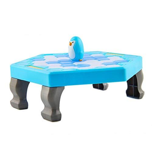 1pc Risparmio Penguin gioco, Pinguino Trappola rottura del ghiaccio tavolo di gioco per bambini, genitori-bambini Interactive giocattolo educativo, adatto ai bambini dai 3 anni (Fat 25.5 * 25.5 * 6cm)