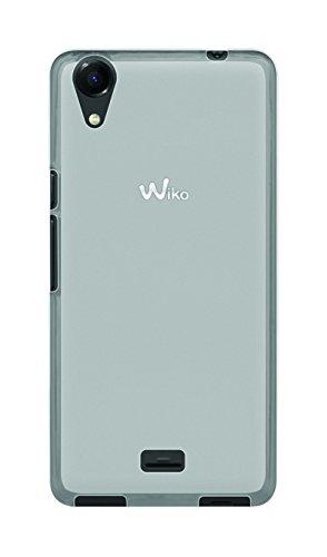 Phonix WKRNUGPW Cover 'Gel Protection Plus' mit Bildschirmschutzfolie, durchsichtiges für Wiko Rainbow Up weiß