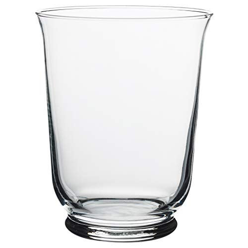 Ikea Asia Pomp vaso lanterna, vetro trasparente