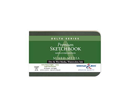 Delta Softcover Sketchbook 5.5X3.5 Ls by Stillman & Birn