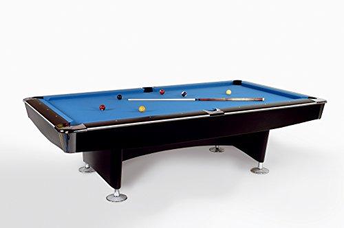 Pool Billardtisch Club Master 9 ft - 254x127 cm mit Schieferplatte inkl. Montage und Zubehörset von John West Billard