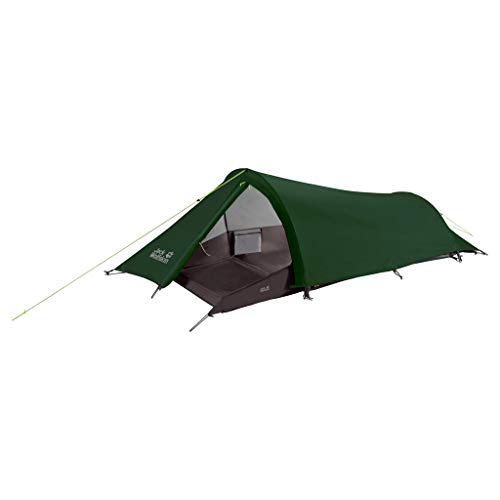 Jack Wolfskin Gossamer Robust 1 Person Tunnelzelt Zelt, Mountain Green, ONE SIZE