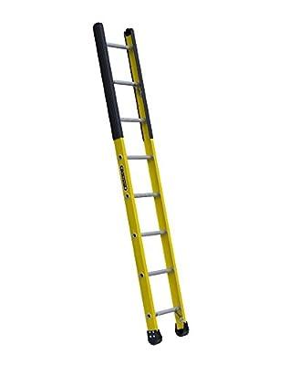 Louisville Ladder Fiberglass Manhole Ladder, 375-Pound Duty Rating, Type Iaa, Yellow