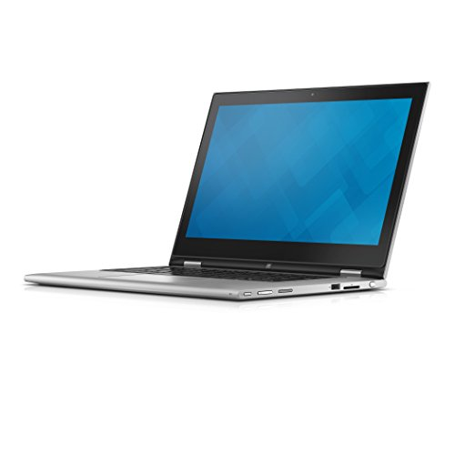 Dell 7359-4839 33,8 cm (13,3 Zoll) Laptop (Intel Core i7 6500U, 8GB RAM, 256GB HDD, Win 10 Home Touchscreen) schwarz/silber