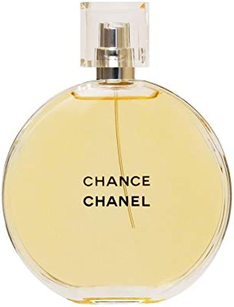Chanel, chance, eau de toilette per donna, 150 ml 3145891264906