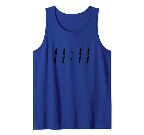 El símbolo Once 1111 Camiseta sin Mangas