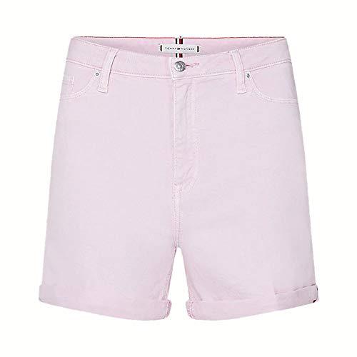 Tommy Hilfiger Damen Rome Hw Short Hana Straight Jeans, Pink (Frosted Pink Toh), W29/L30 (Herstellergröße: NI29)