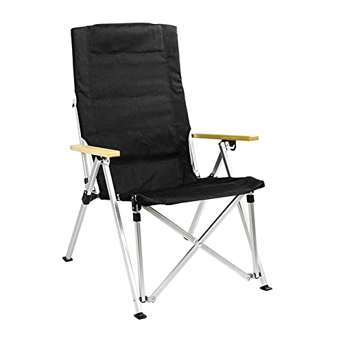 XXCHUIJU Camping Chair with Carry Bag Arm Chair, Folding Aluminum Outdoor Portable Lightweight Chair