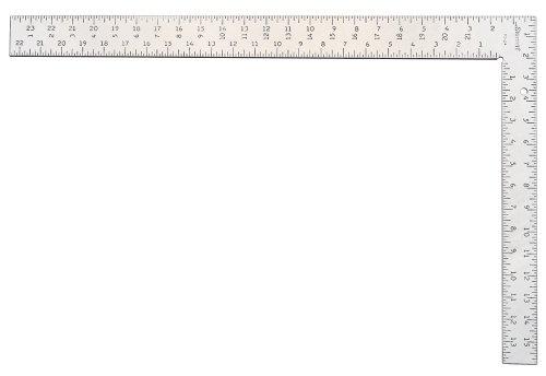 "Starrett FS-24 Steel Professional Framing Square, 24"" x 16"" Length"