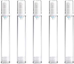 5 PCS Botella de la Bomba de vacío portátil sin Aire Niebla Fina Botella Perfume del Aerosol, 15ml fácil de Llevar Botella de Spray