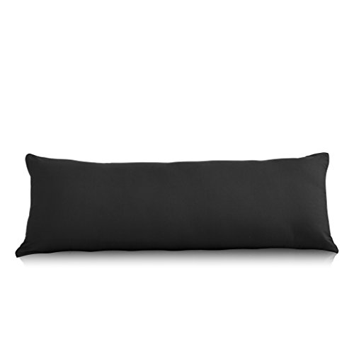 EVOLIVE Ultra Soft Microfiber Body Pillow Cover/Pillowcases...