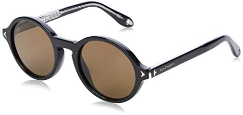 Givenchy GV 7059/S 70 807 50 Occhiali da Sole, Nero (Black/Brown), Uomo