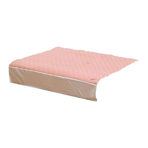 Kylie Bettschutzauflage   Rosa   3 Liter   Einzelbett 91 x 91 cm   Waschbare saugfähige Inkontinenzunterlage   Wasserdichte Unterlage   Mit Flügel 50cm   Premium-Qualität und Komfort