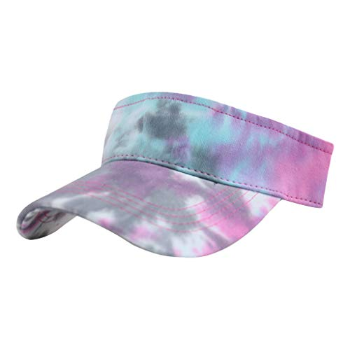 GSusan Farben Sonnenblenden für Damen und Mädchen, Lange Brim Dickere Schweißband Einstellbare Hut für Golf Radfahren Angeln Tennis Jogging und Andere Sportarten
