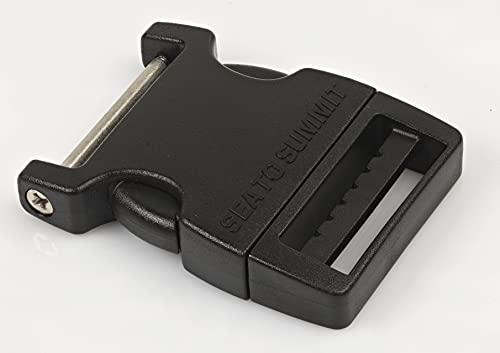 Sea to Summit Field Repair Buckle-38mm Side Release 1 Pin Accesorios, Adultos Unisex, Negro (Black), Talla Única