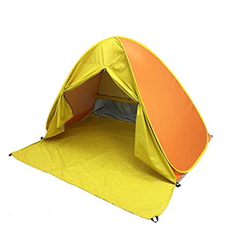 Pangyan Easy Pops Up Tienda de playa con cortina Sun Shelter Instant Automatic Portable Camping Tents Uso al aire libre ligero