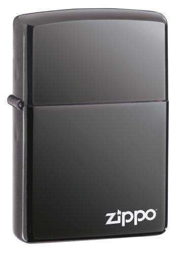 Zippo aansteker 60001213 Black Ice w Logo, zilver, 5, 5cm