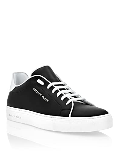 Philipp Plein Masculino Leather Lo-Top Sneakers Istitutional
