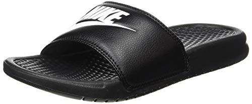 Nike Herren Benassi JDI Flip Flop, Schwarz (Black/White), 44 EU