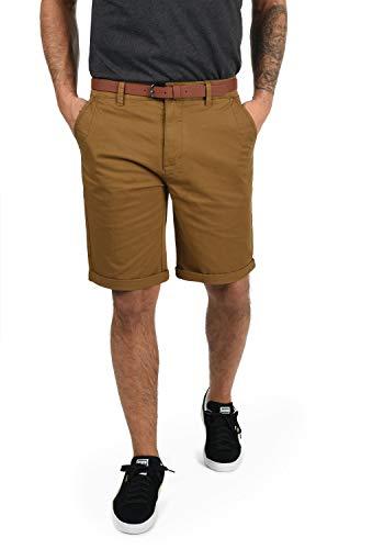 !Solid Montijo Chino Shorts Bermuda Kurze Hose Mit Gürtel Aus Stretch-Material Regular Fit, Größe:L, Farbe:Cinnamon (5056)