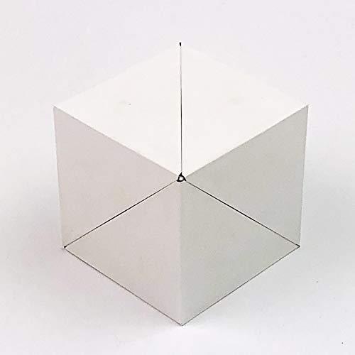 GeoBender Cube - White - mágico Rompecabezas geométrico, Puzzle Plegable, Juego de Paciencia ñ Cubo de transformaciones infinitivas para Aprender y Jugar para niños y Adultos
