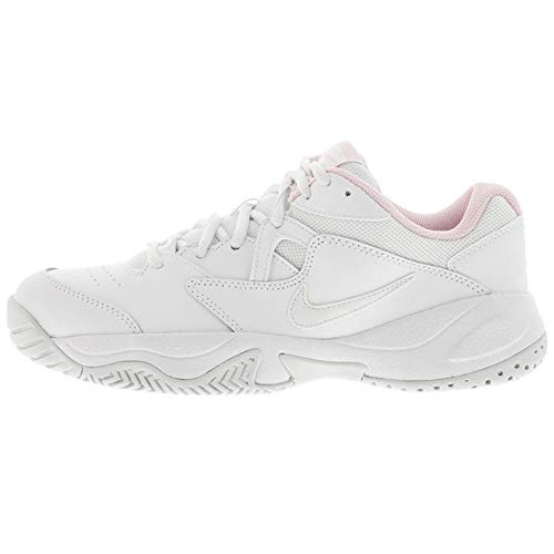 Nike Wmns Court Lite 2, Zapatos de Tenis para Mujer, White/Photon Dust-Pink...